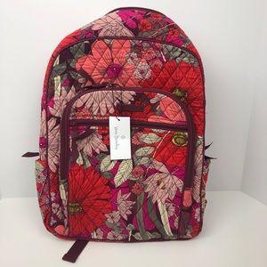 Vera Bradley campus backpack nwt bohemian blooms